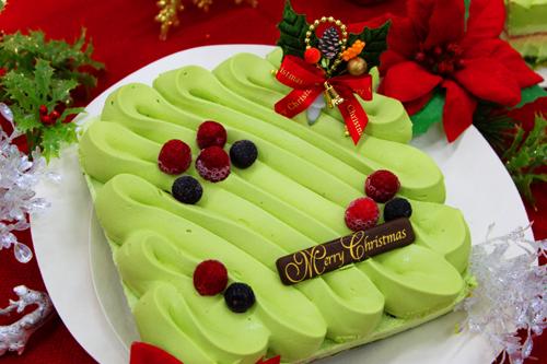 伊藤久右衛門 抹茶 クリスマスケーキ