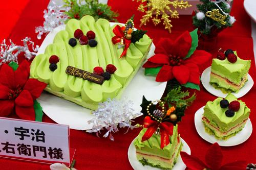 宇治抹茶 クリスマスケーキ
