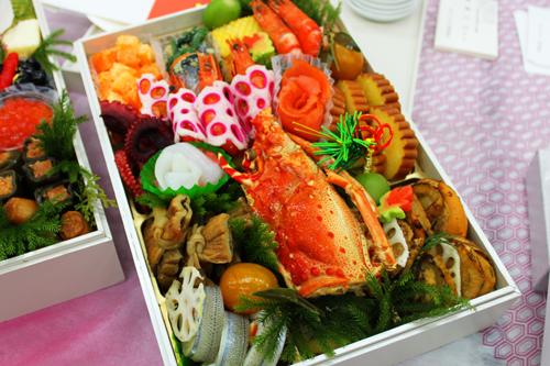 北海道と築地ウォーク おせち料理